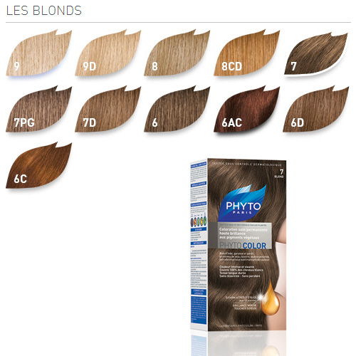 photo kit coloration phyto les tons blonds phyto 1340 - Coloration Korres